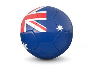 Australia soccer ball 3d render
