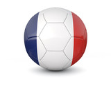 France soccer ball 3d render