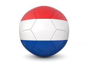 netherland soccer ball 3d render