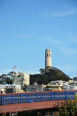 Coit tower at SF