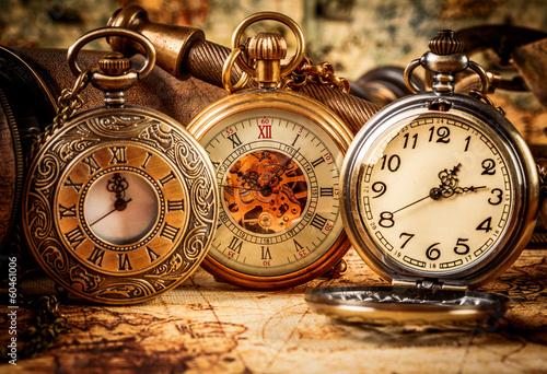 Obraz na Plexi Vintage pocket watch