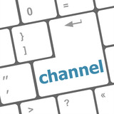 channel button on computer pc keyboard key