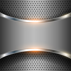 Abstract background elegant metallic