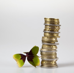 Glück bei der Geldanlage