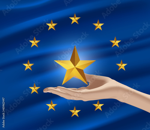 A new member of the European Union (flag)