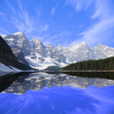 Moraine lake. Banff National park. Canadian Rockies.