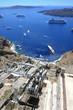 Grèce / Santorin - Téléphérique