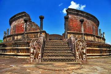 Polonnaruwa temple - ancient capital of Ceylon