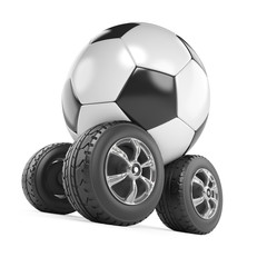 Football monster truck
