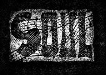 Soul music word backgrounds and texture