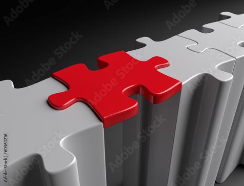 Puzzle Brücke
