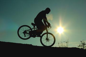 akrobatik bisikletçi