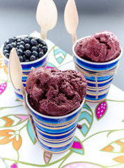 Bilberry Ice-cream