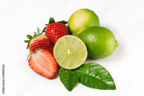 Lime e Fragole