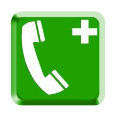 Rettungszeichen Nottelefon