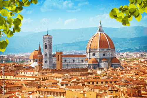 Fotobehang Mediterraans Europa Basilica di Santa Maria del Fiore