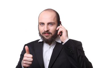 geschäftsmann telefon