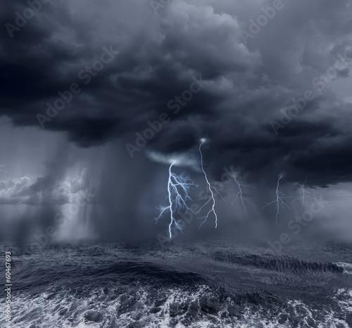 stormy ocean - 60467693
