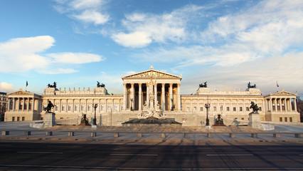 House of Parliment in Vienna, Austria