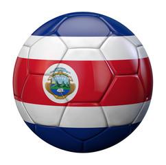Costa Rica football flag