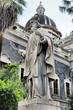 San Leo statue at Catania Cathedral, Italy
