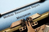 Medical report - menopause poster