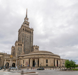 Palace of Culture and Science in Warsaw, Poland