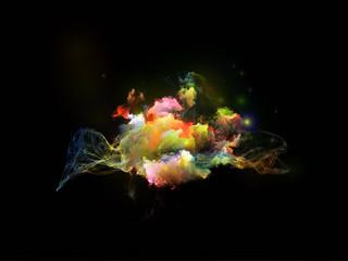 Virtualization of Fractal Nebulae
