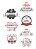 Premium quality label collection poster