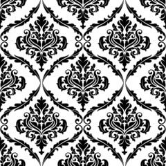 Ornate floral arabesque decorative pattern