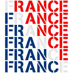 France Text Design