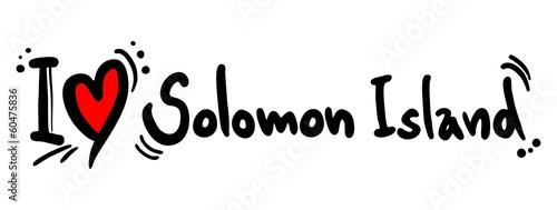 Love solomon island