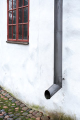 Drainpipe On The Wall