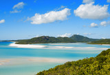 Whitehaven beach lagoon at national park queensland australia tr
