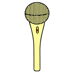 microphone vector drawing