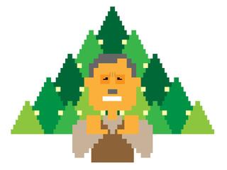 花粉症_年輩男性