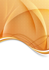 Bright folder template - abstract illustration