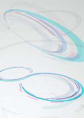 Web circular banner - transparent background