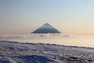 Kluchevskoy volcano.