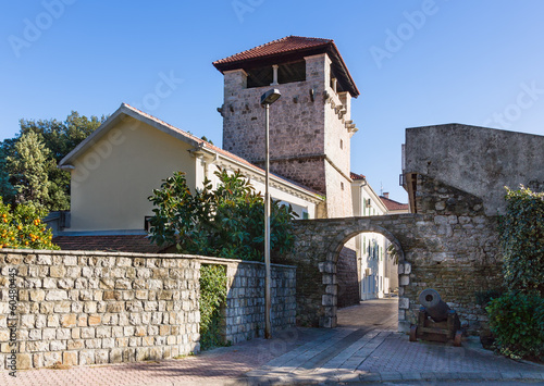 Medieval summer house of the Buca family. Tivat. Montenegro