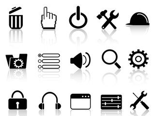 web work tool icons