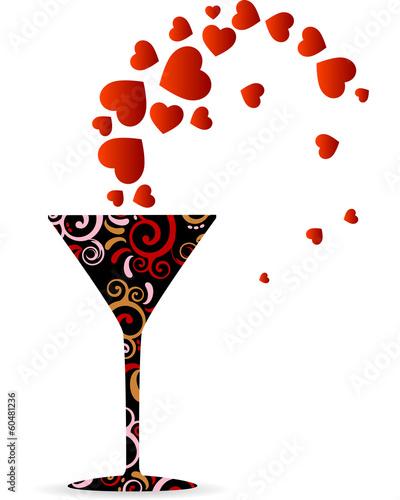 Cocktail Valentine's Day