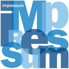 """IMPRESSUM"" (Website Publikation Copyright Autor Redaktion)"