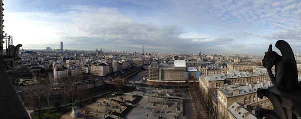 panorama from Paris