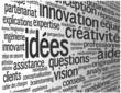 """Nuage de Tags """"IDEES"""" (idées solutions innovation créativité)"""