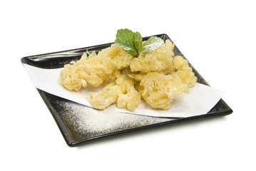 tempura fruit