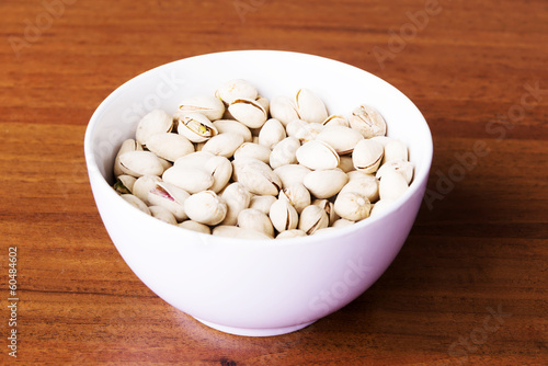 Pistachio in a bowl.