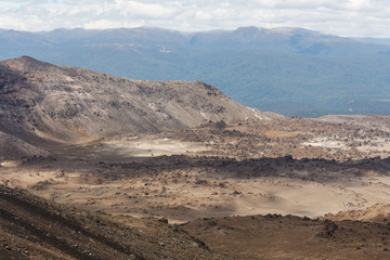 lava fields at Tongariro National Park
