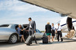Business Partners About To Board Private Jet - 60485852