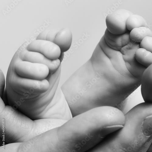 Fototapeta baby's foot